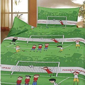 sengetøj fodbold