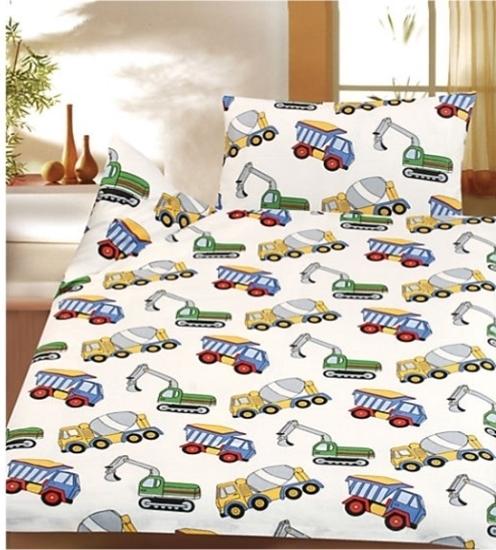 sengetøj entreprenørmaskiner