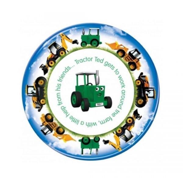 tallerken traktor