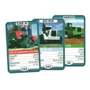 traktor kortspil