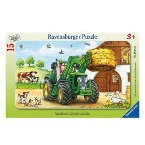 traktorpuslespil