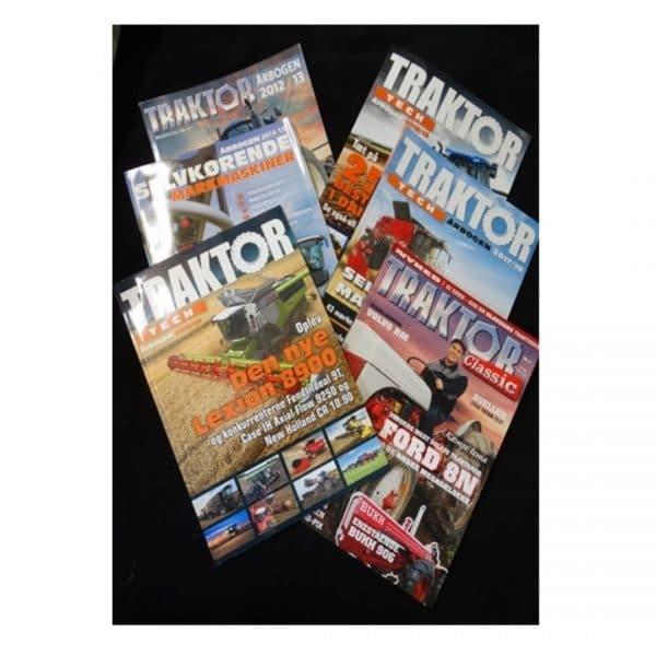 traktortech årbøger og blade
