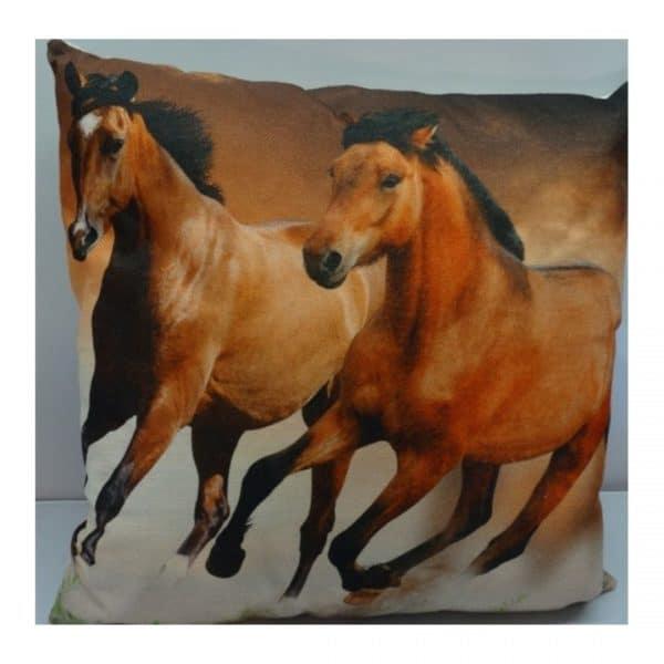 puder med hest