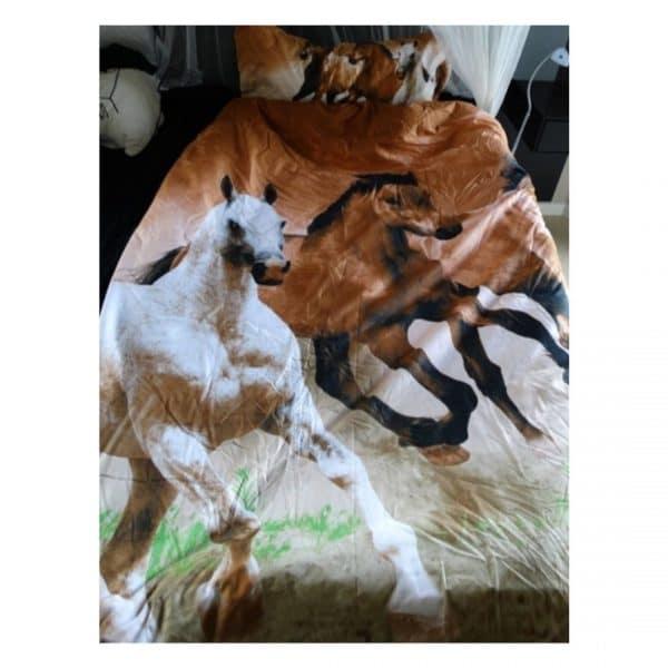 sengetøj hest