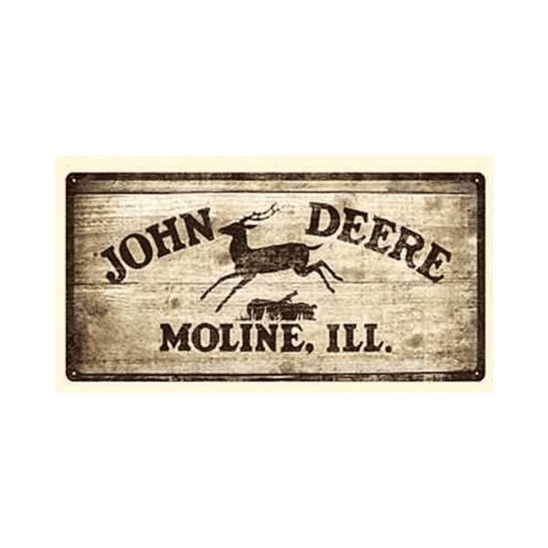 John Deere Blikskilt