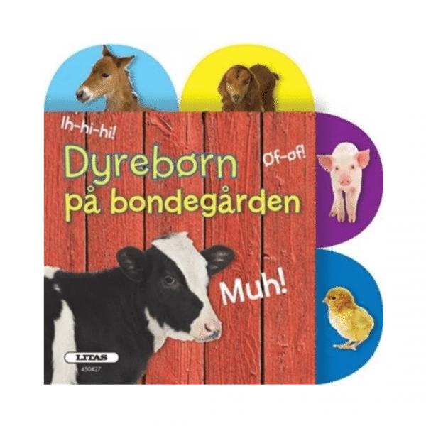 Dyrebørn på bondegården bog