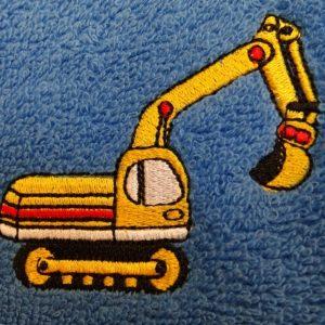 gravemaskine håndklæde