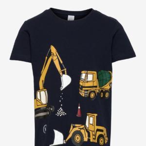 t-shirt med traktor